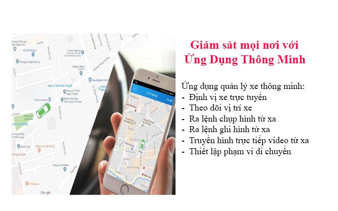 Định vị xe từ xa qua điện thoại hoặc máy tính