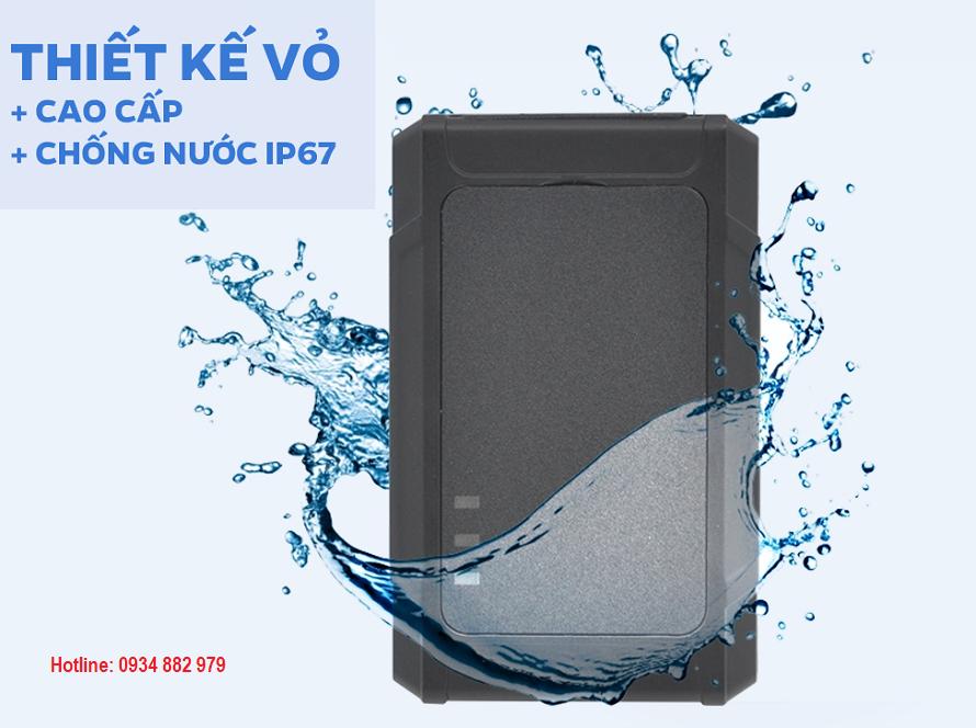 Thiết kế chống nước của định vị A9+
