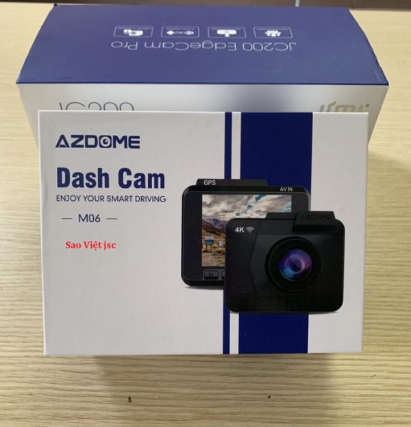 Hình ảnh camera hành trình M06 kết nối wifi