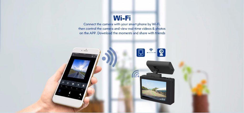 Tích hợp wifi giám sát trực tuyến
