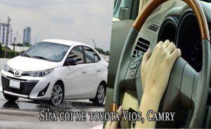 Sửa còi xe toyota Vios, Camry