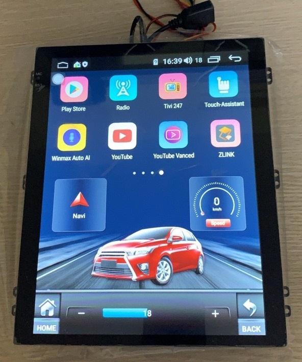 Các hình khác của màn hình android kiểu tesla