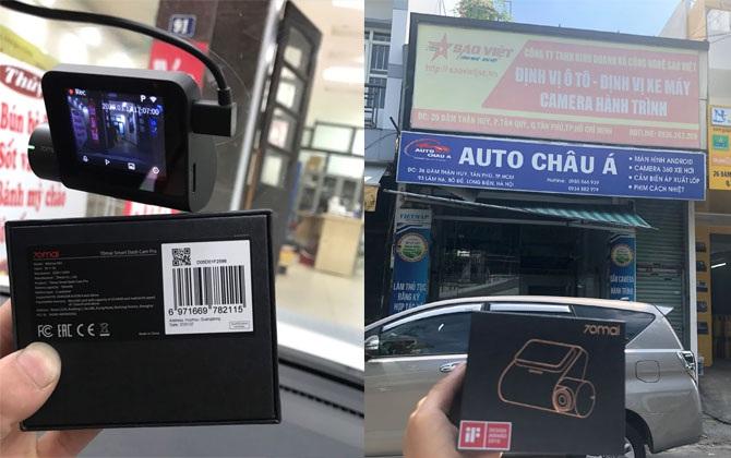 Camera hành trình Xiaomi tại Long Biên