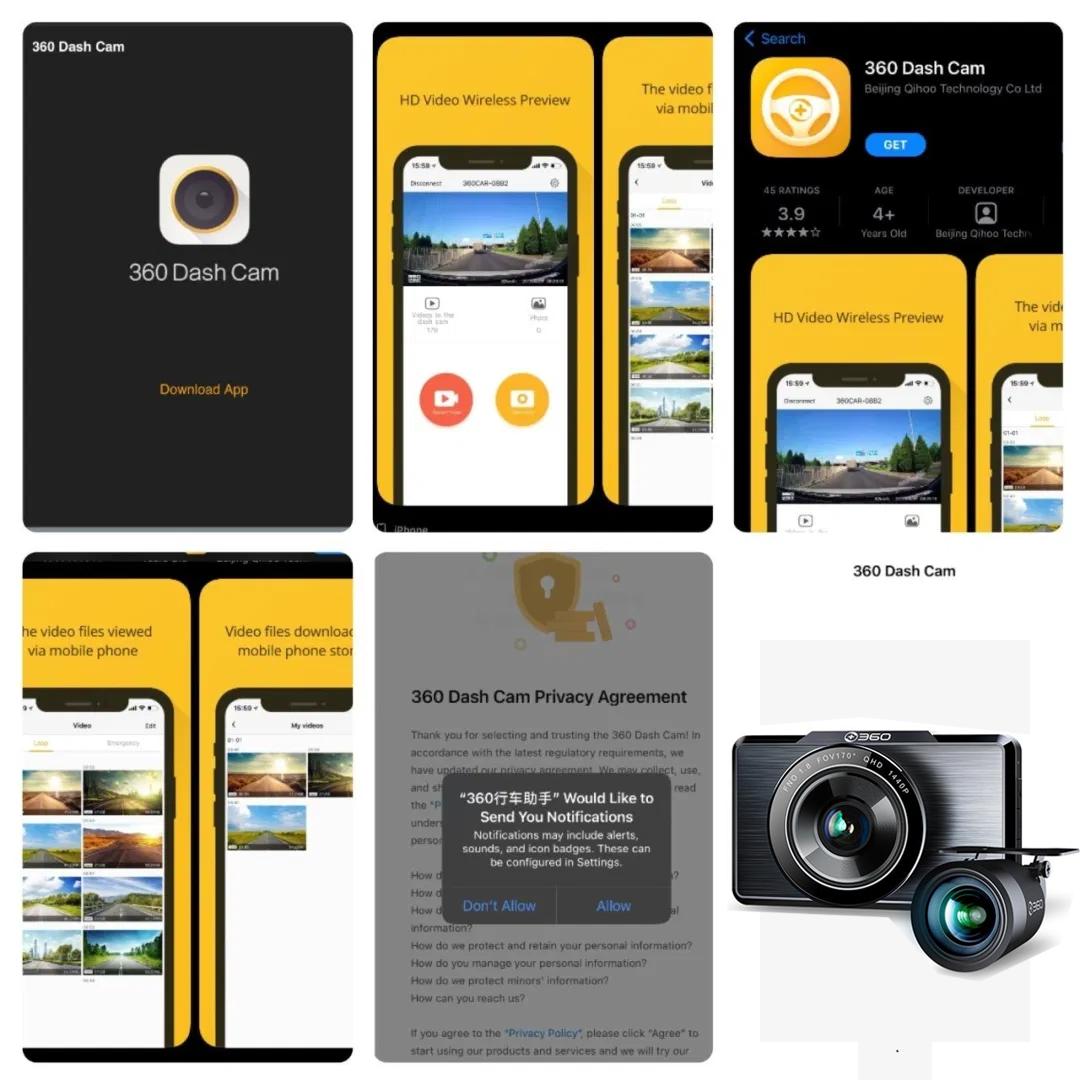 ứng dụng camera 360-G500H