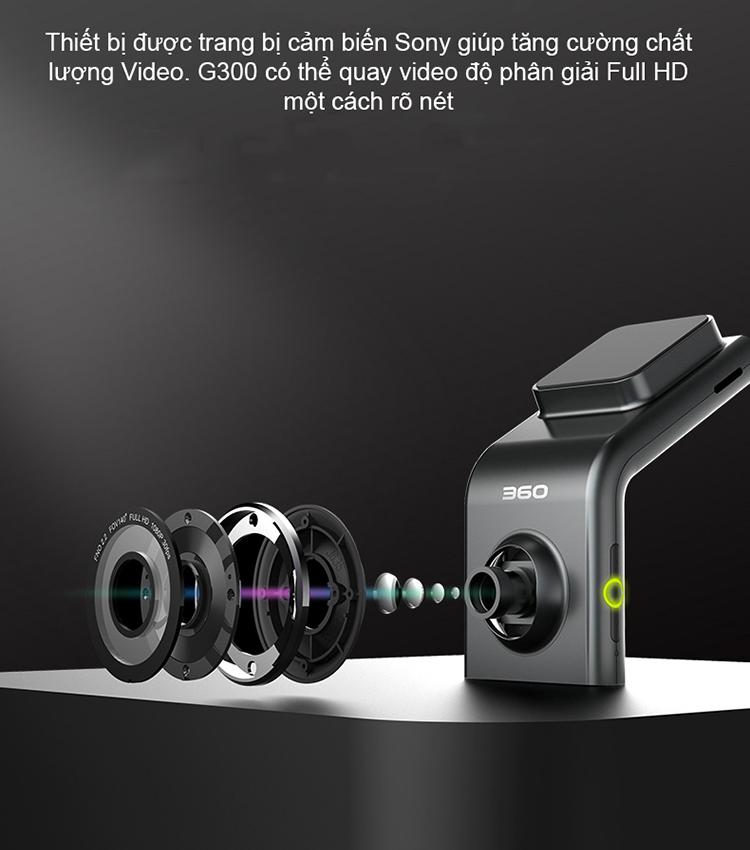 G300H ghi hình Full HD