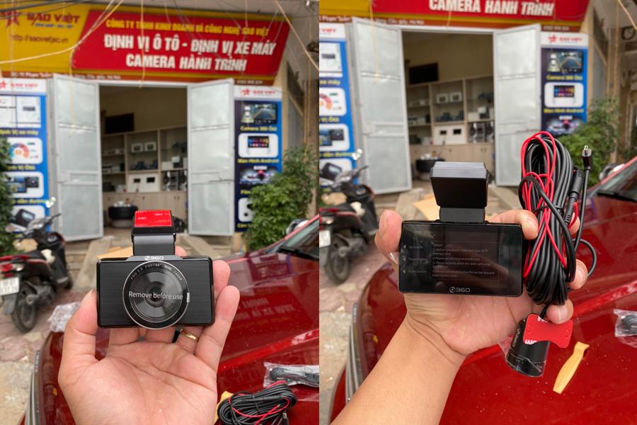 Hình ảnh thực tế camera hành trình Qihoo G500H