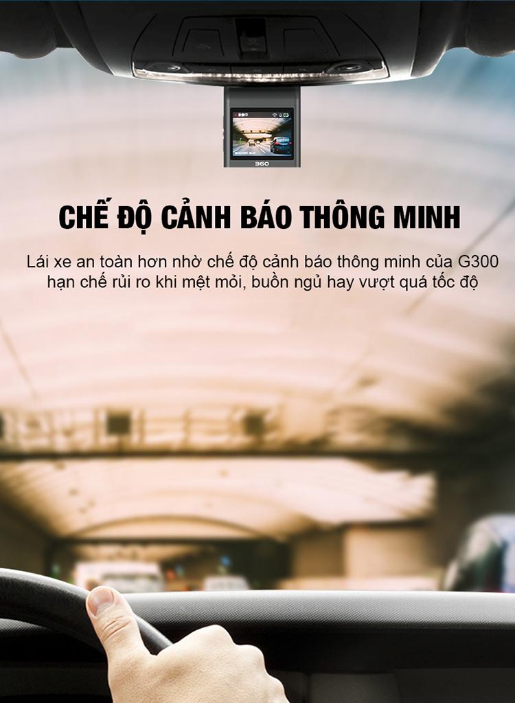 chế độ cảnh báo thông minh của Qihoo G300H