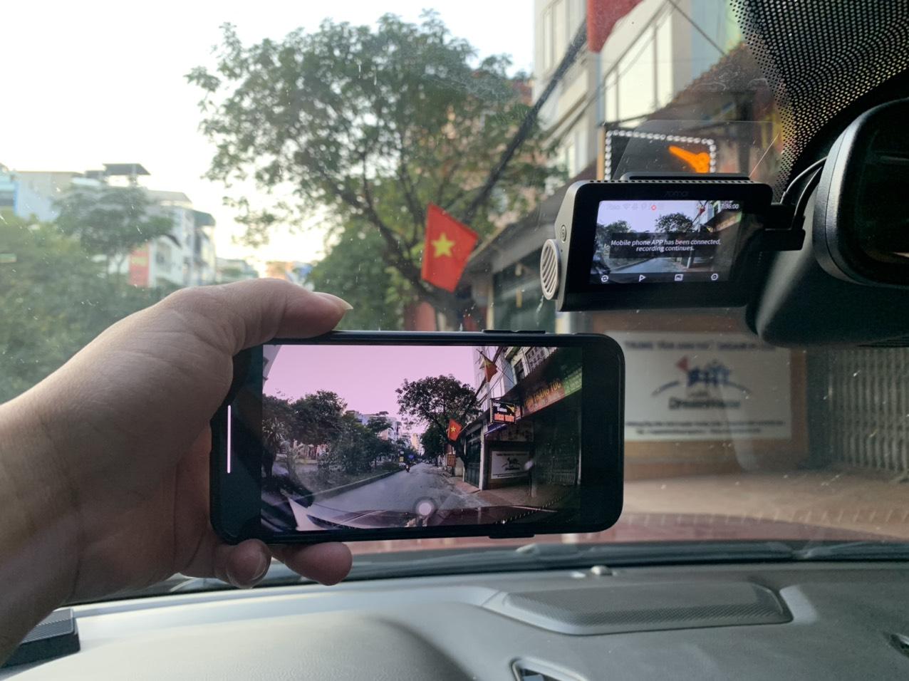 camera hành trình xiaomi 70mai A800S