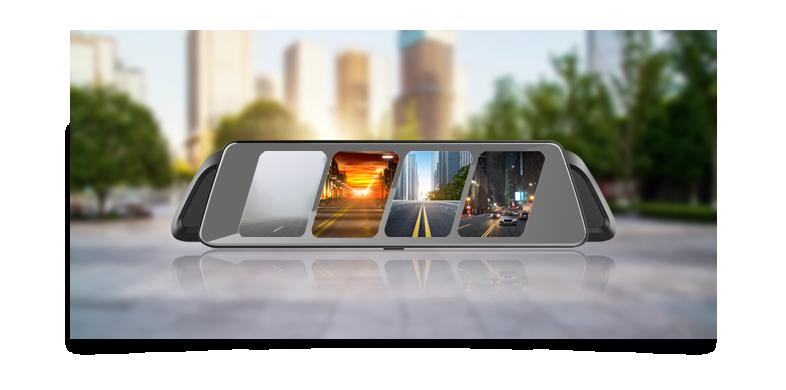 Vietmap iDVR P2 - Camera Hành Trình Gương 4G thông minh