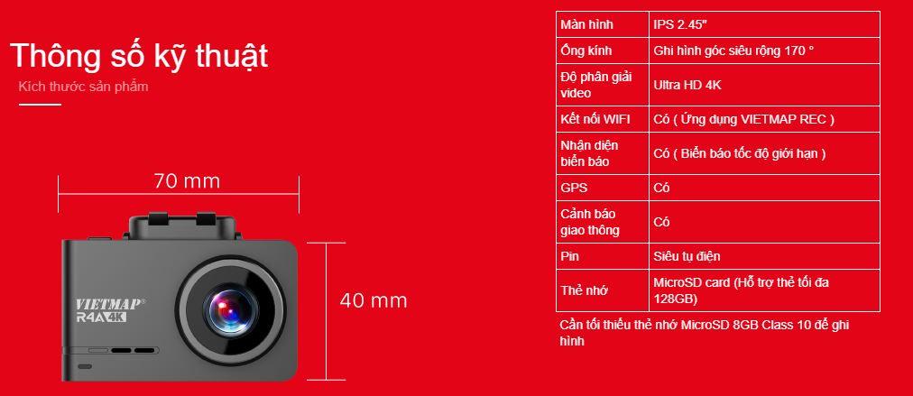camera hành trình vietmap R4A 9