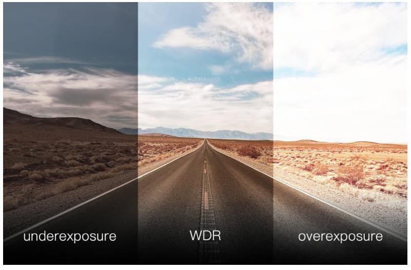 khẩu độ F2.0 và công nghệ WDR
